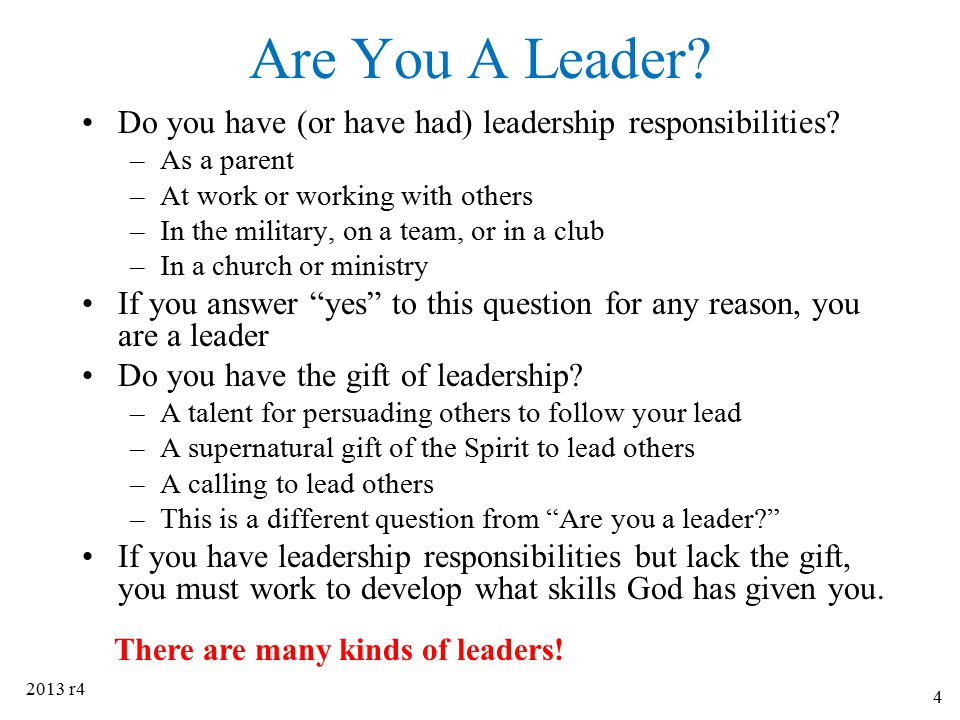What is Leadership.