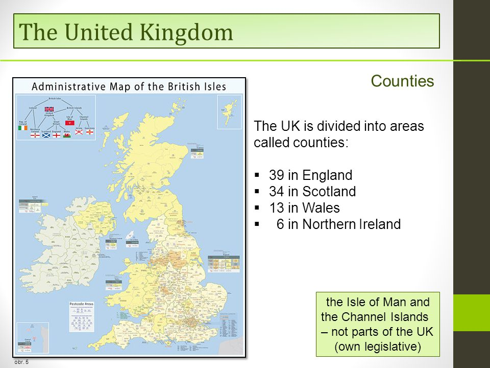 The United Kingdom Counties obr.