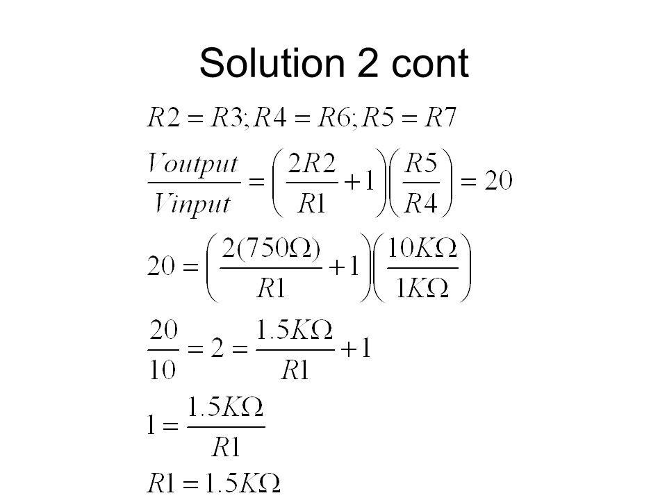 Solution 2 cont