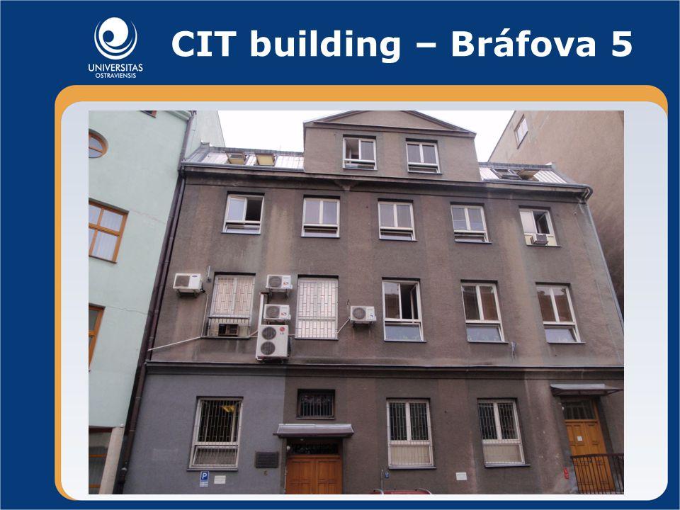 CIT building – Bráfova 5