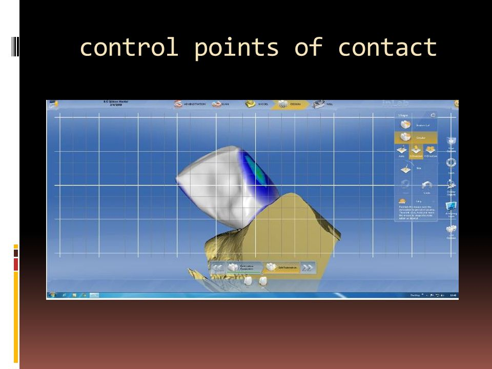 control points of contact