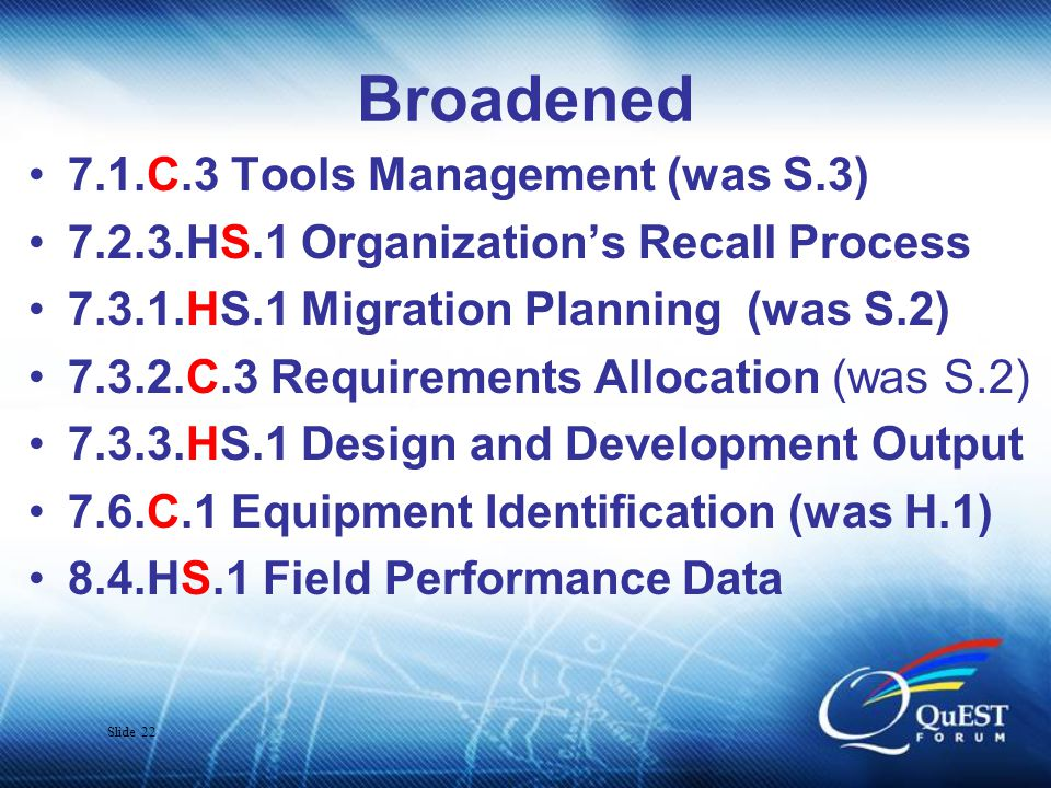 Slide 23 Changed & New Adders