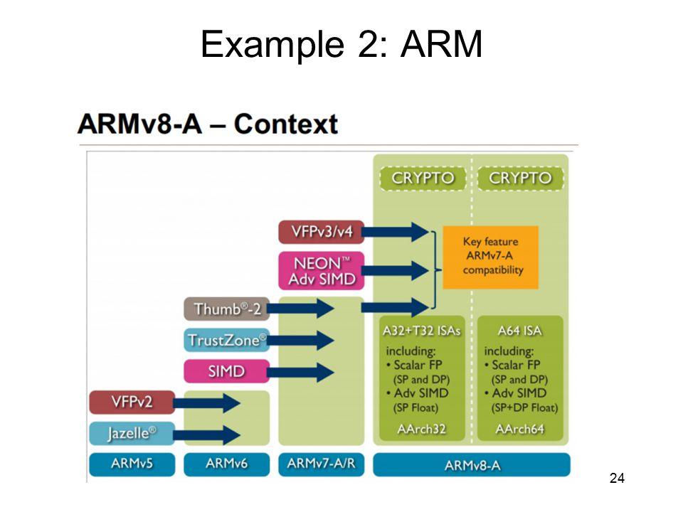 Example 2: ARM 24