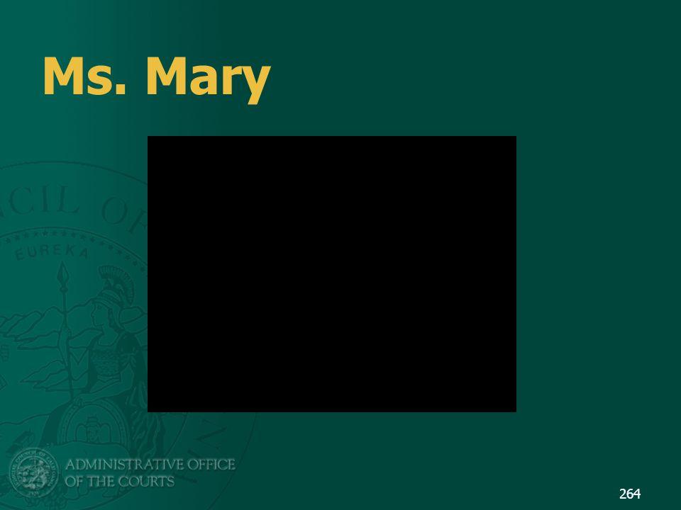 Ms. Mary 264