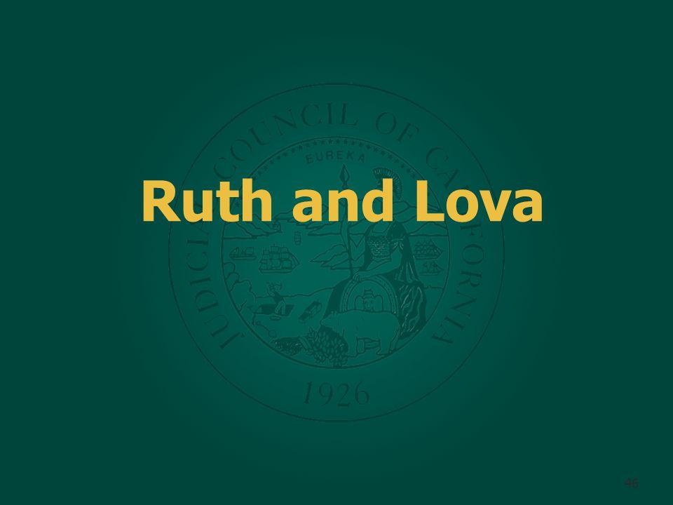 Ruth and Lova 46