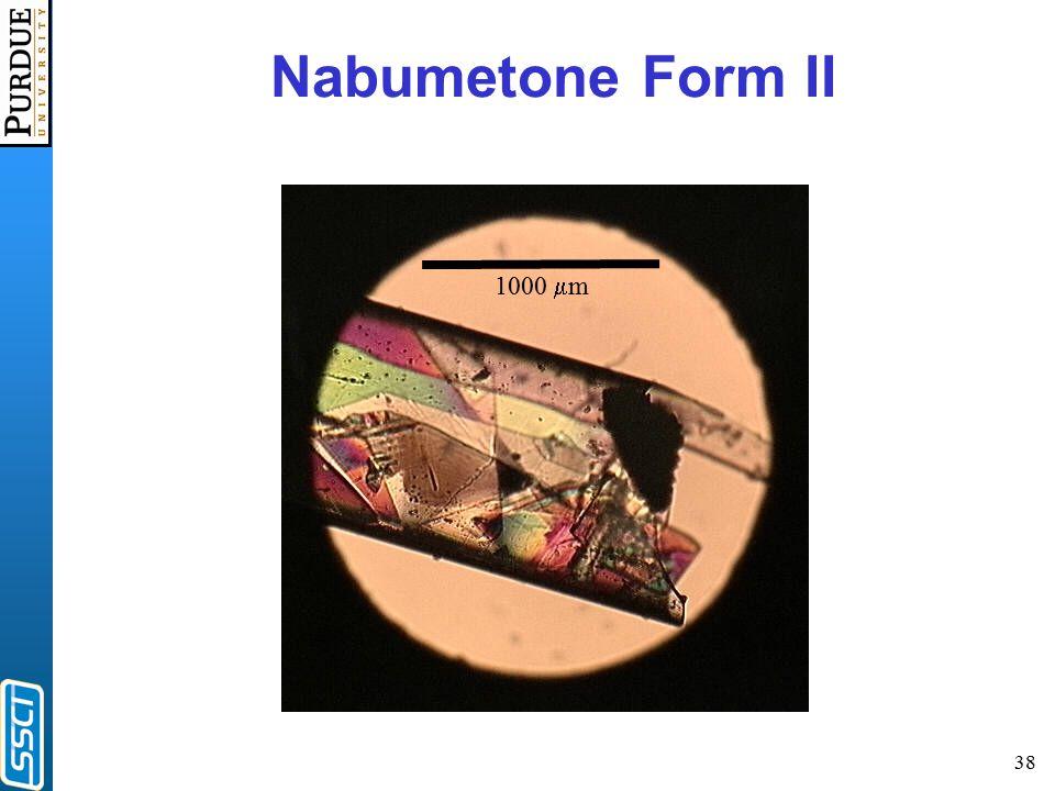 38 1000  m Nabumetone Form II