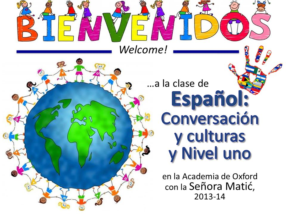 Los objetivos de hoy (Today's Objectives) ( Greetings & Introductions ) Students will… 1)…meet the Teacher 2)…learn basic greetings to use daily in class 3)…read & pick a variety of Spanish names, also to use daily in class ( We speak Spanish here )