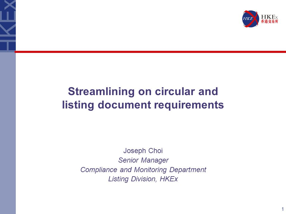 2 Purposes -Make document contents relevant for shareholders -Eliminate unnecessary restrictions or compliance burdens -Facilitate timely despatch of circulars Background