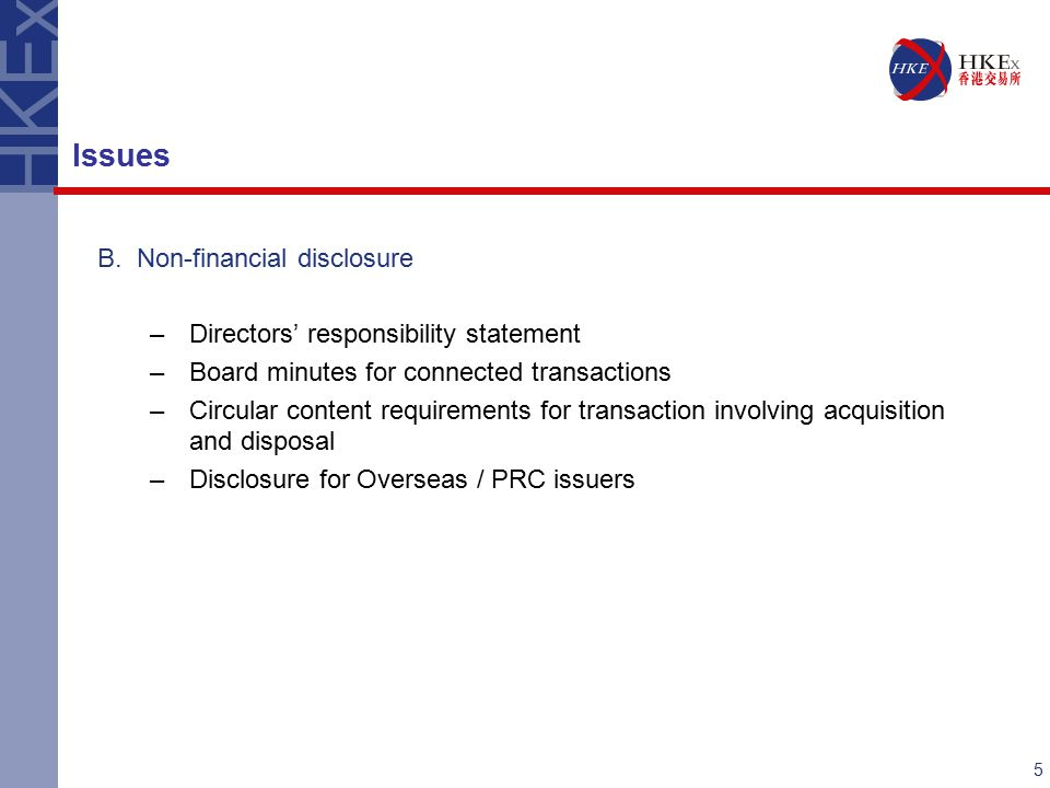 6 C.Despatch of circular –Transaction / supplementary circulars Issues