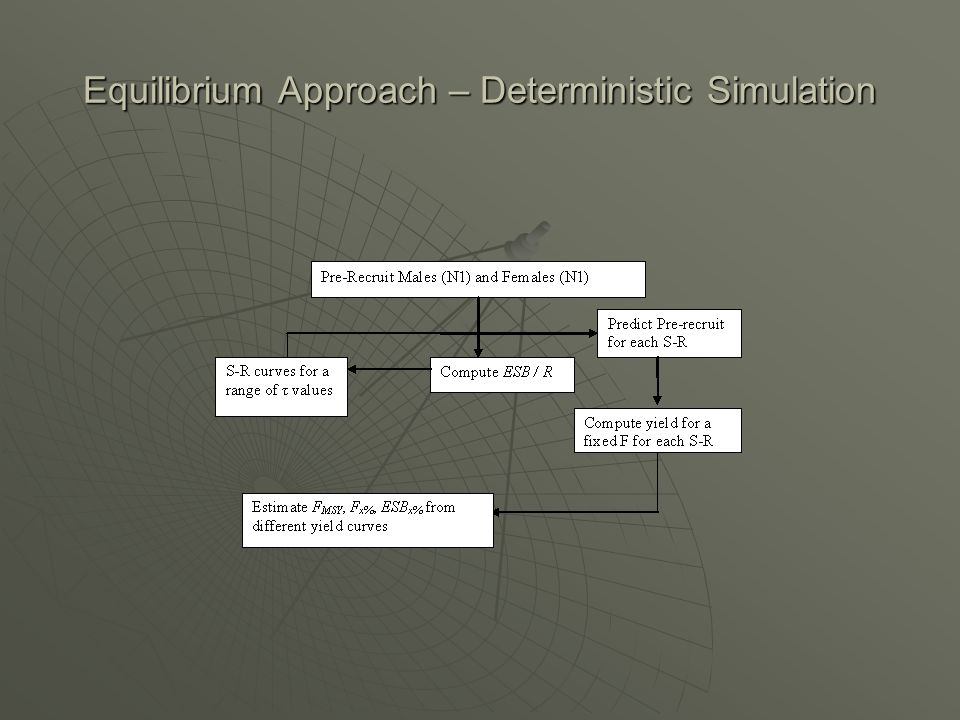 Equilibrium Approach – Deterministic Simulation