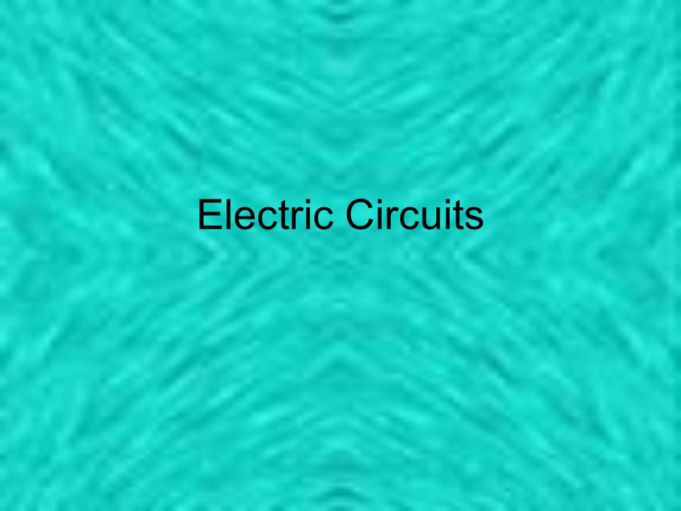 Parallel Circuits Circuits that have multiple paths for the electrons to follow