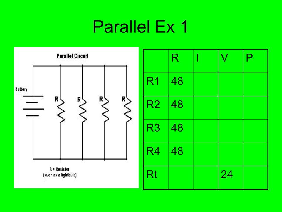 Parallel Ex 1 RIVP R148 R248 R348 R448 Rt24
