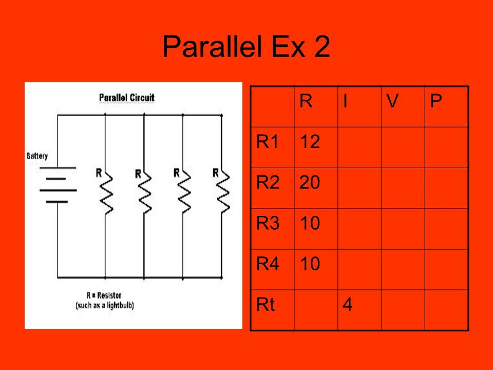 Parallel Ex 2 RIVP R112 R220 R310 R410 Rt4