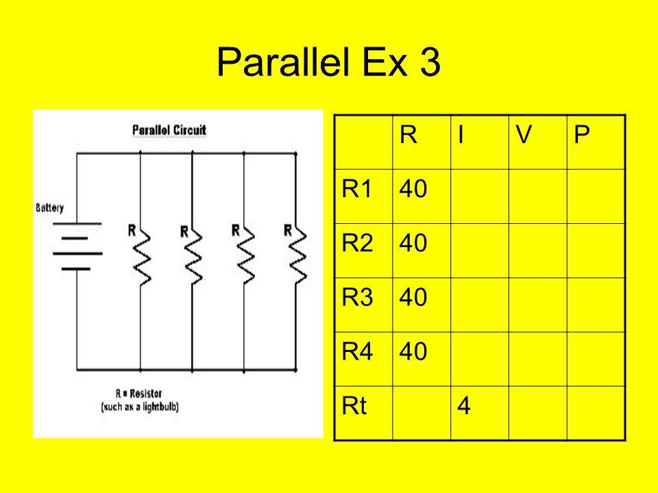 Parallel Ex 3 RIVP R140 R240 R340 R440 Rt4