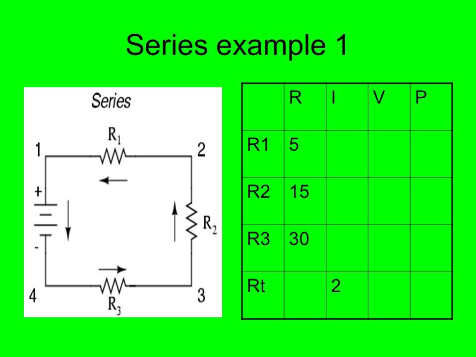 Series example 2 RIVP R13 R25 R322 Rt120