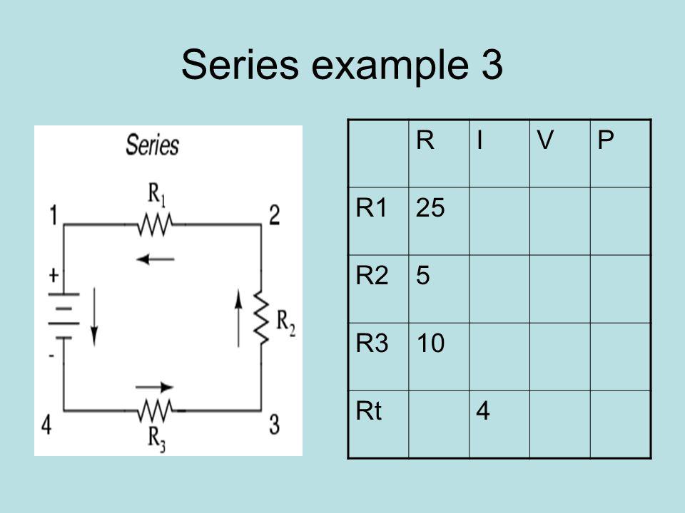 Series example 4 RIVP R110 R210 R330 Rt3
