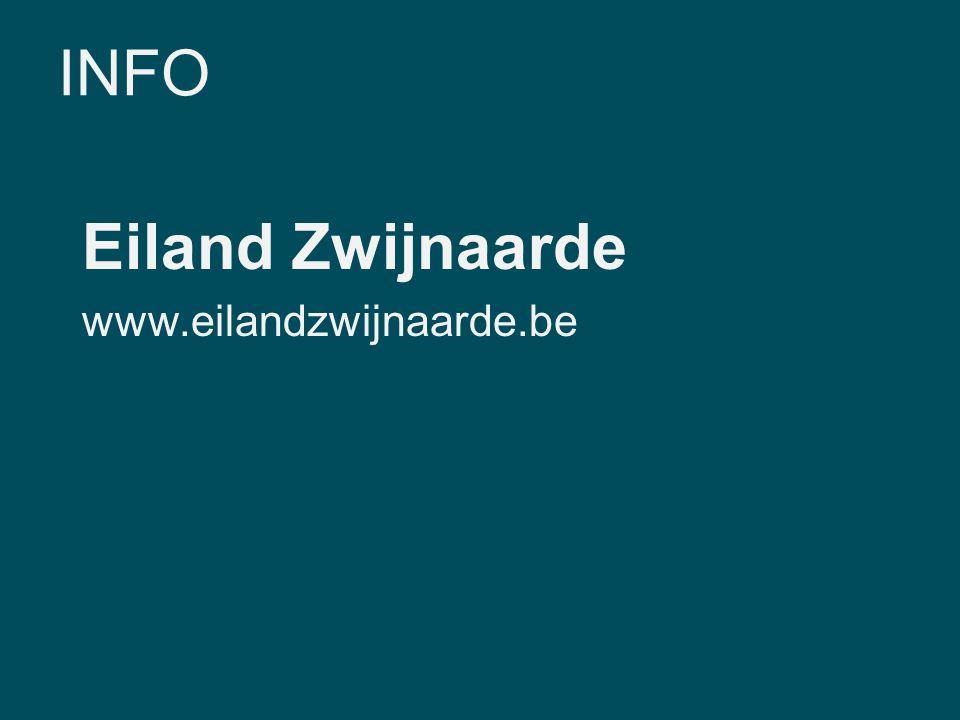 INFO Eiland Zwijnaarde www.eilandzwijnaarde.be