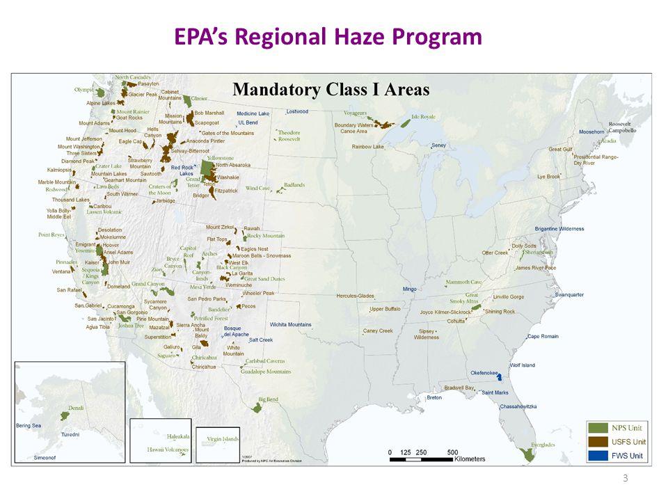 EPA's Regional Haze Program 3