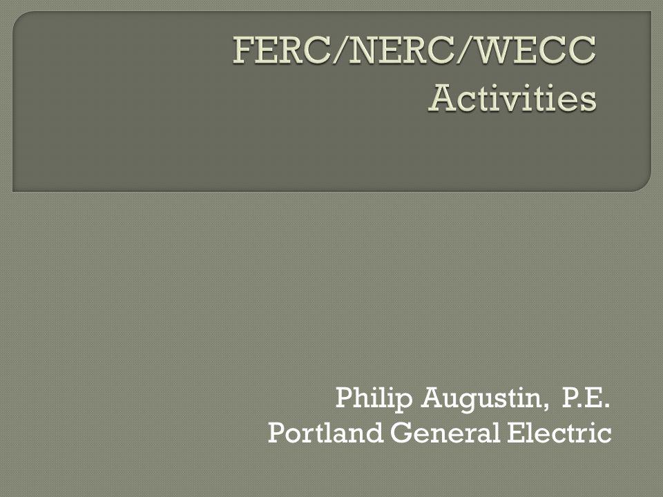 Philip Augustin, P.E. Portland General Electric