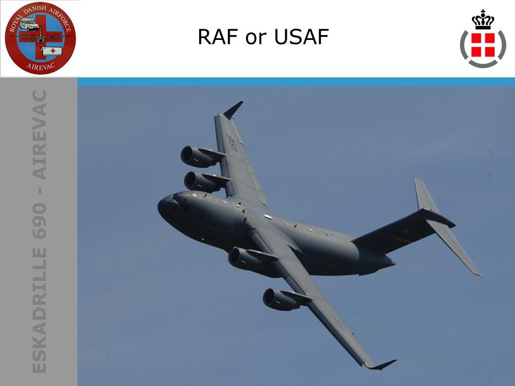 ESKADRILLE 690 - AIREVAC RAF or USAF