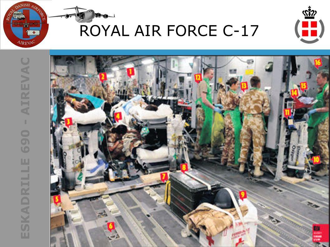 ESKADRILLE 690 - AIREVAC ROYAL AIR FORCE C-17