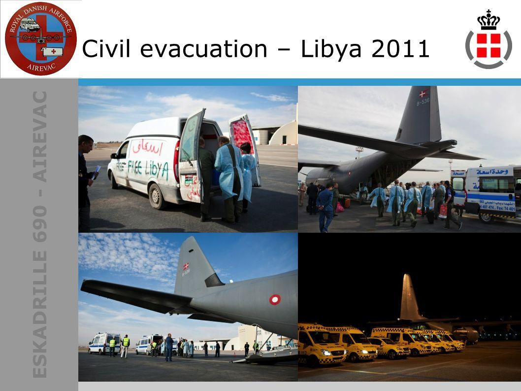 ESKADRILLE 690 - AIREVAC Civil evacuation – Libya 2011