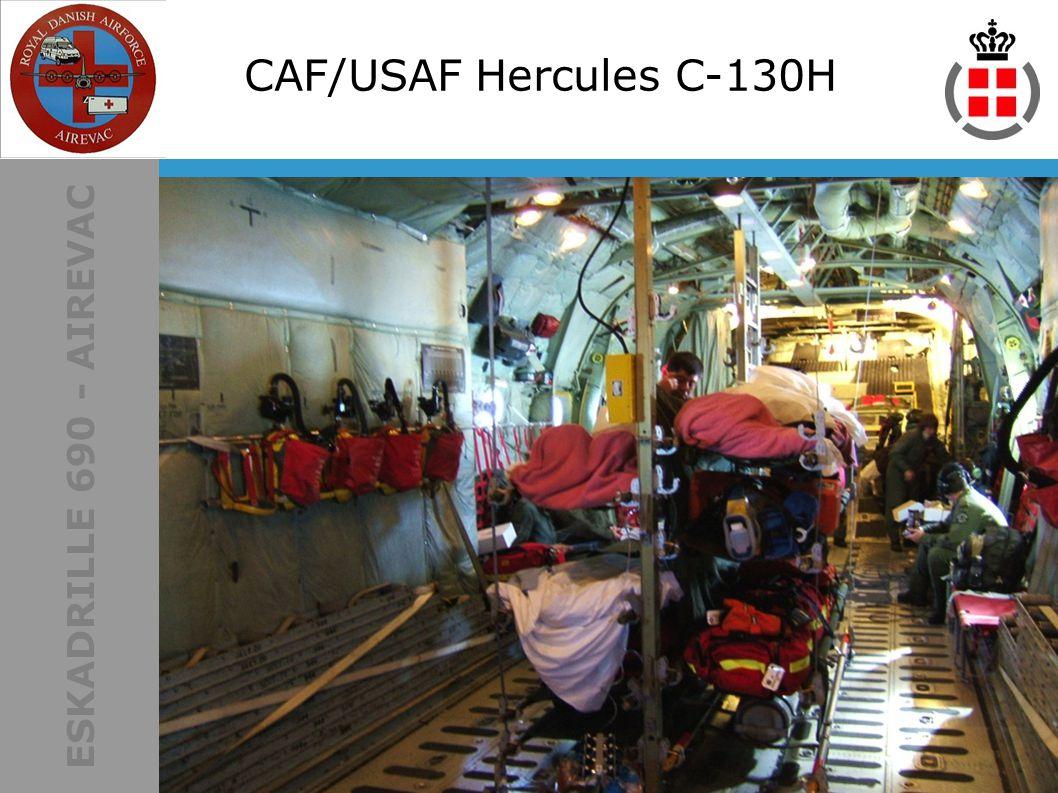 ESKADRILLE 690 - AIREVAC CAF/USAF Hercules C-130H