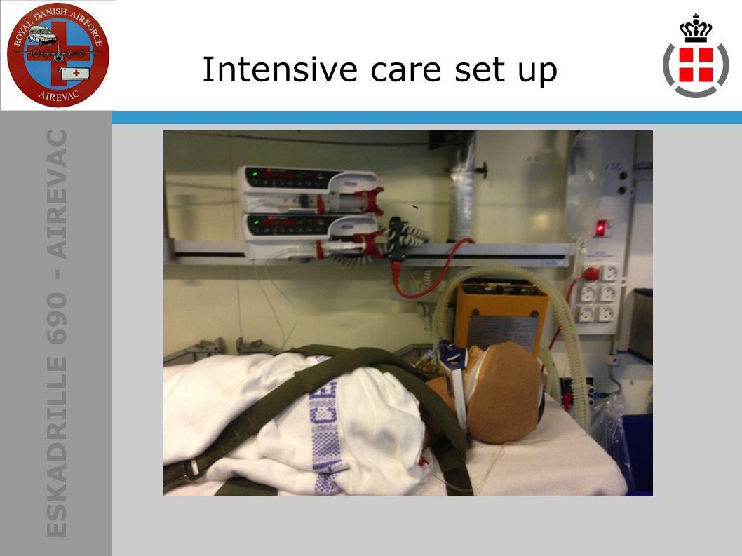 ESKADRILLE 690 - AIREVAC Intensive care set up