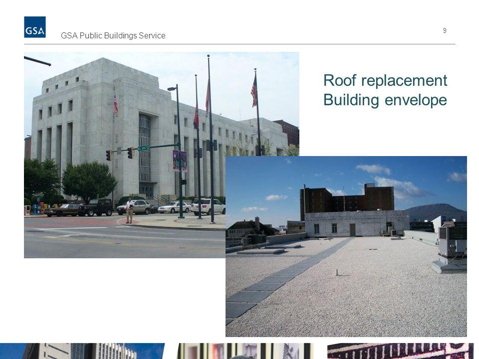 9 GSA Public Buildings Service Roof replacement Building envelope