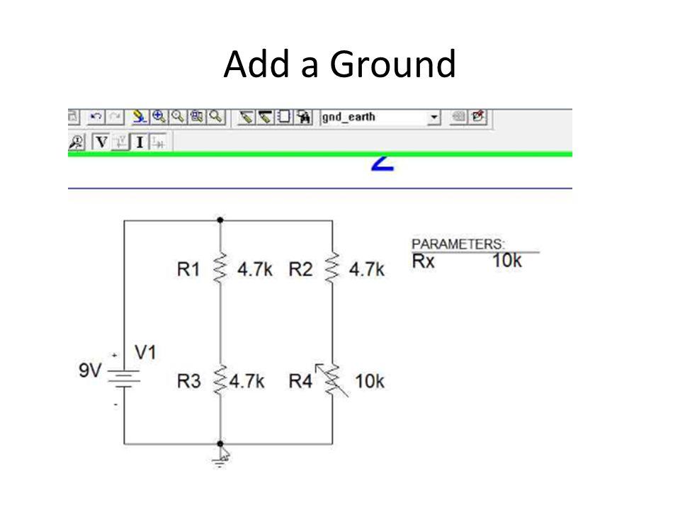 Add a Ground