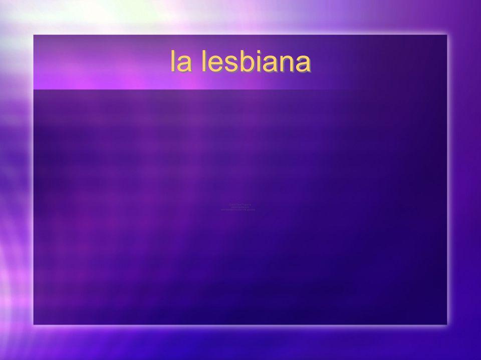 la lesbiana