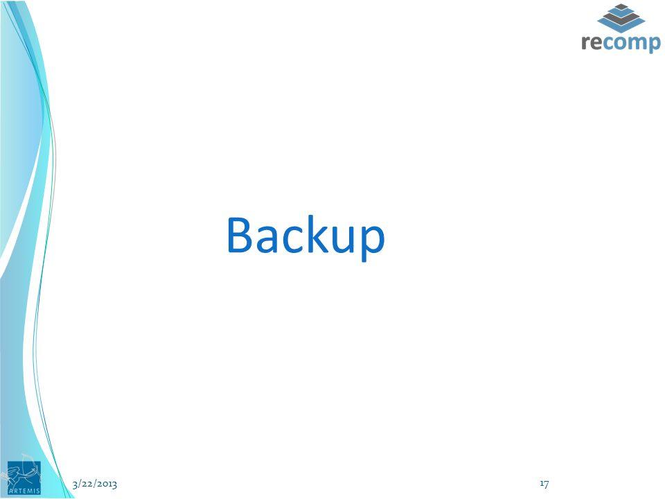 Backup 3/22/2013 17