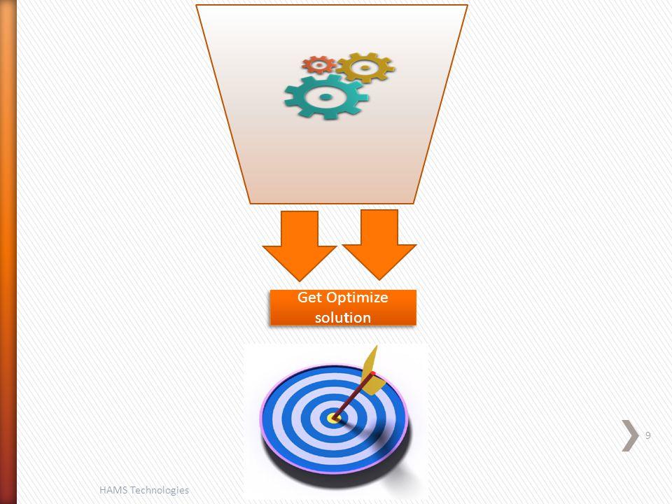 9 HAMS Technologies Get Optimize solution