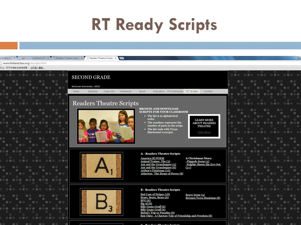 RT Ready Scripts