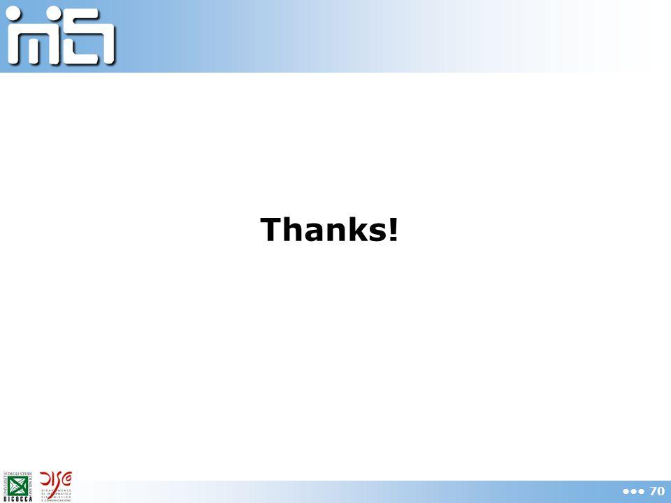 Thanks! 70