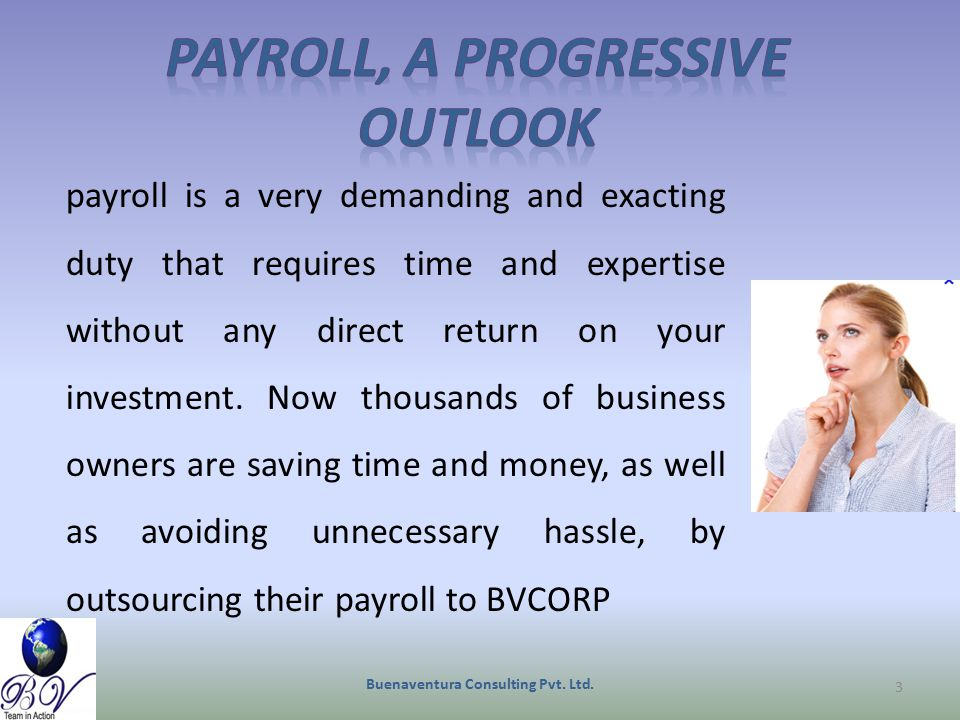payroll is a very demanding and exacting duty that requires time and expertise without any direct return on your investment. Now thousands of business