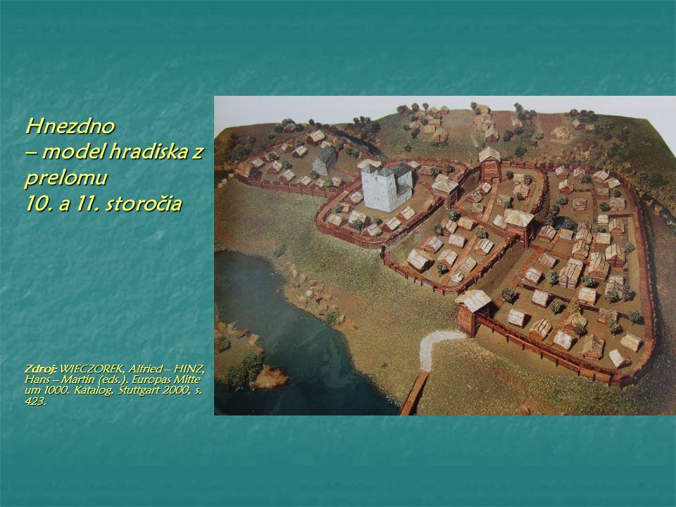 Krakow – model hradiska medzi rokmi 1000 – 1125 Zdroj: WIECZOREK, Alfried – HINZ, Hans – Martin (eds.).