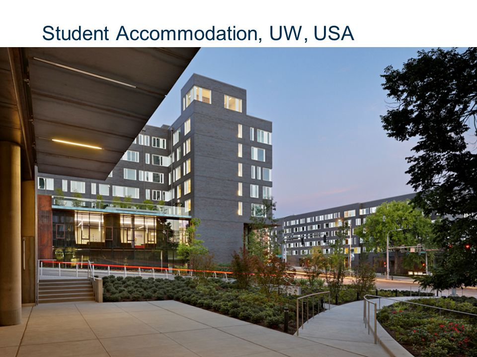 Slide 24 Student Accommodation, UW, USA © CSIR 2006 www.csir.co.za