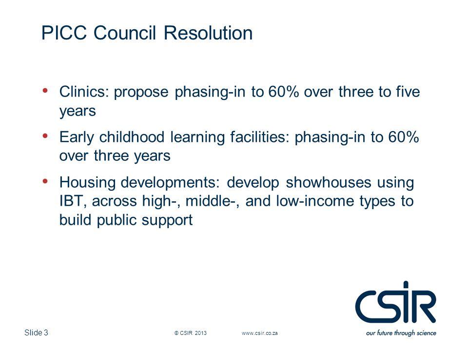 Slide 24 Student Accommodation, UW, USA © CSIR 2006 www.csir.co.za