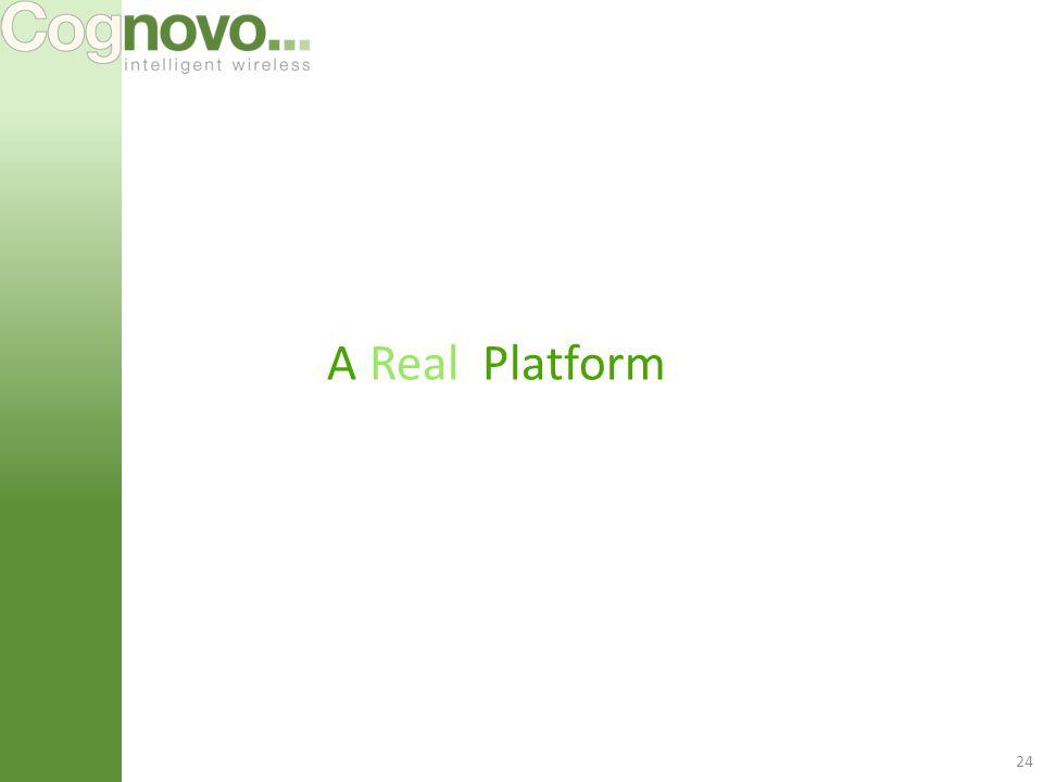 24 A Real Platform
