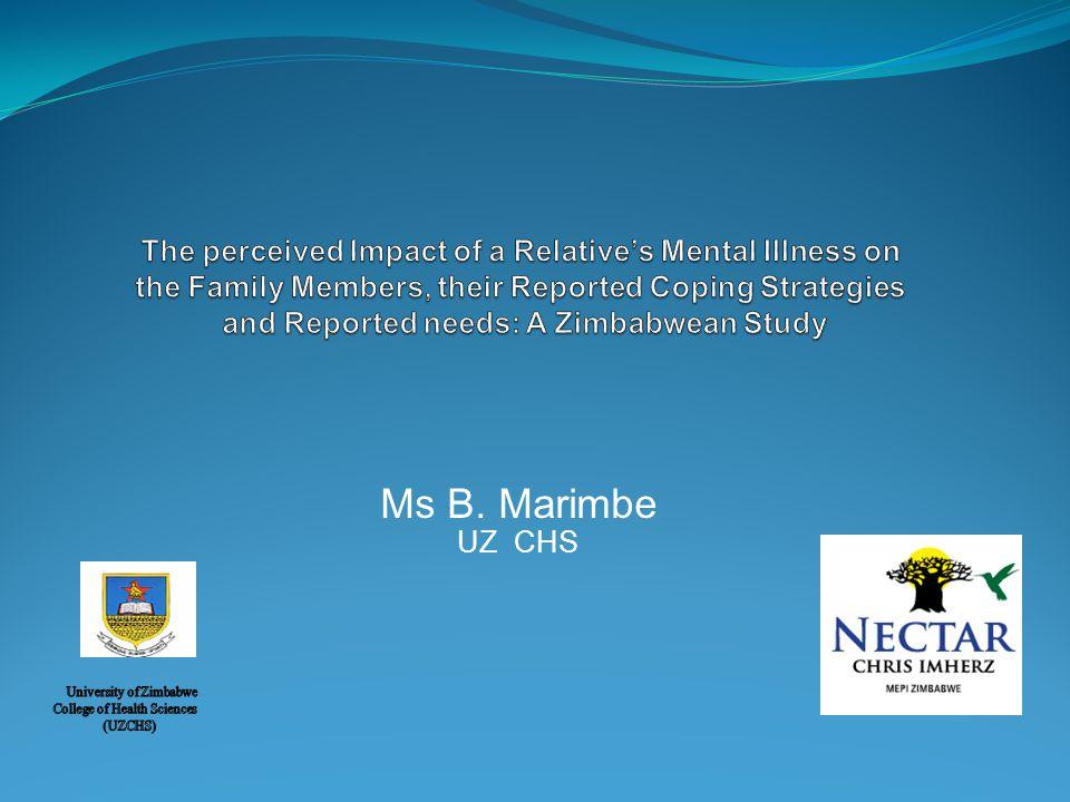 Ms B. Marimbe UZ CHS