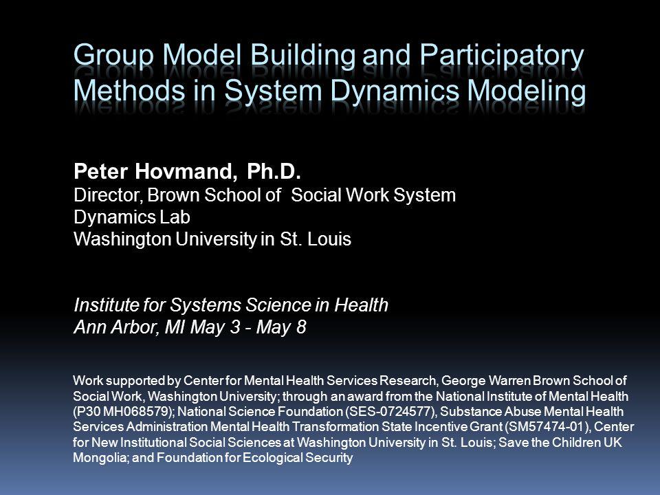Peter Hovmand, Ph.D.