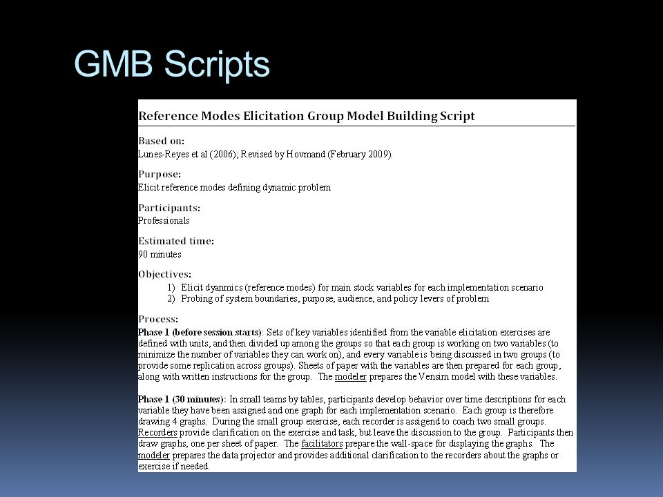 GMB Scripts