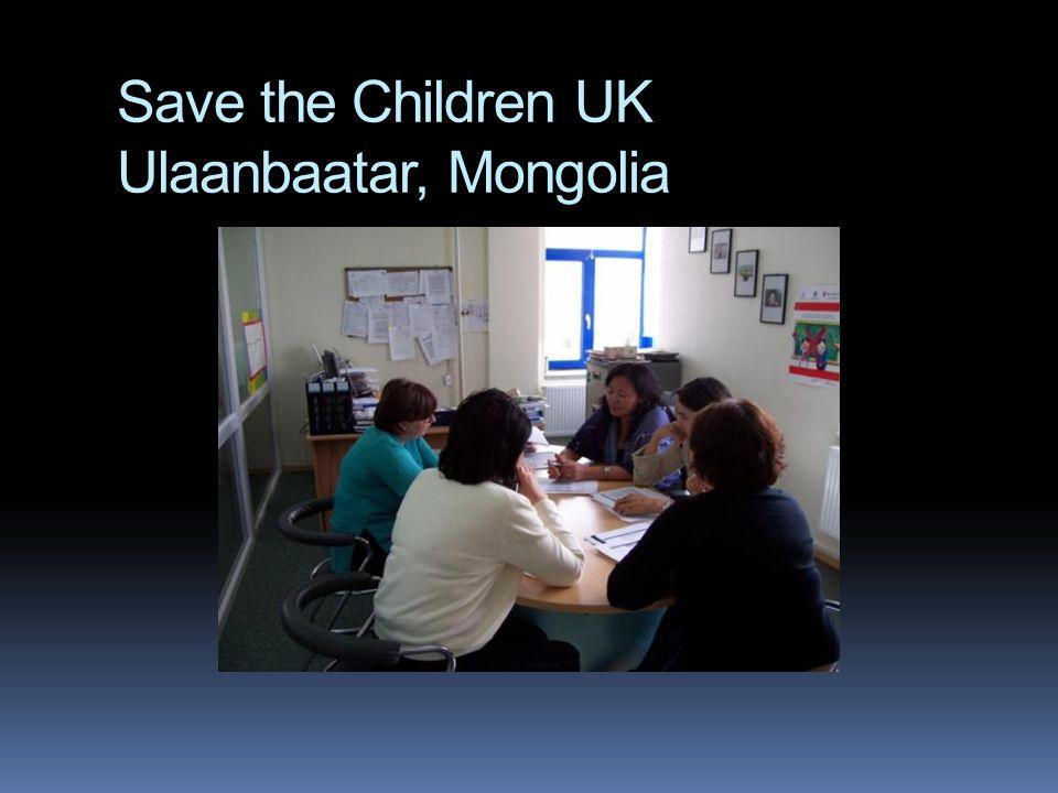 Save the Children UK Ulaanbaatar, Mongolia