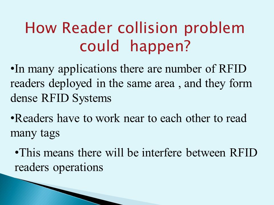 How Reader collision problem could happen.