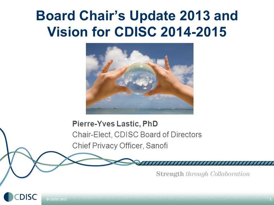 © CDISC 2012 Facing the Demand & Managing Growth New, increasing demand requires new skills and more manpower  Knowledge in many different therapeutic areas  Knowledge of regulatory processes and medical practices in different countries and regions  Higher staff numbers  Stronger Management, larger, more professionnal organization 42