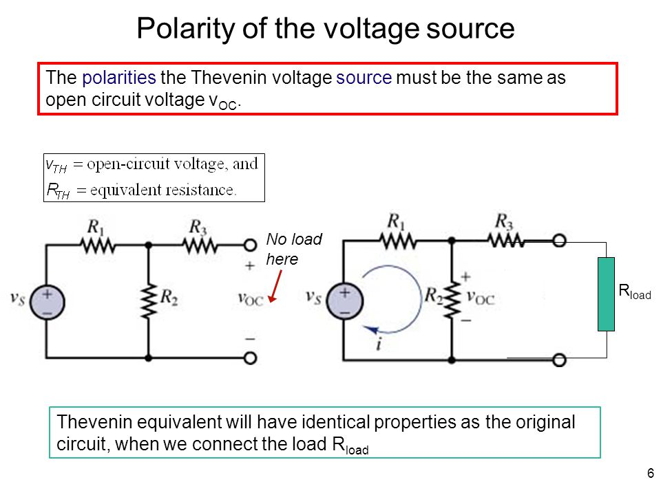 7 Zeroing Current and Voltage Sources This is Source Deactivation
