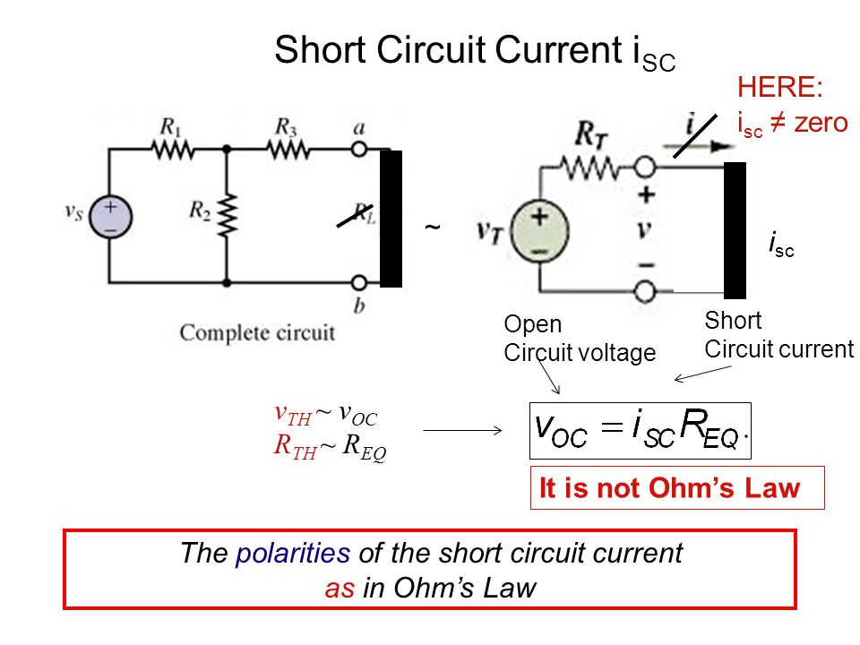 30 Superposition Principle The total current (through) or total voltage (across) any part of a linear circuit is the algebraic sum of all currents/voltages produced by each source acting separately.
