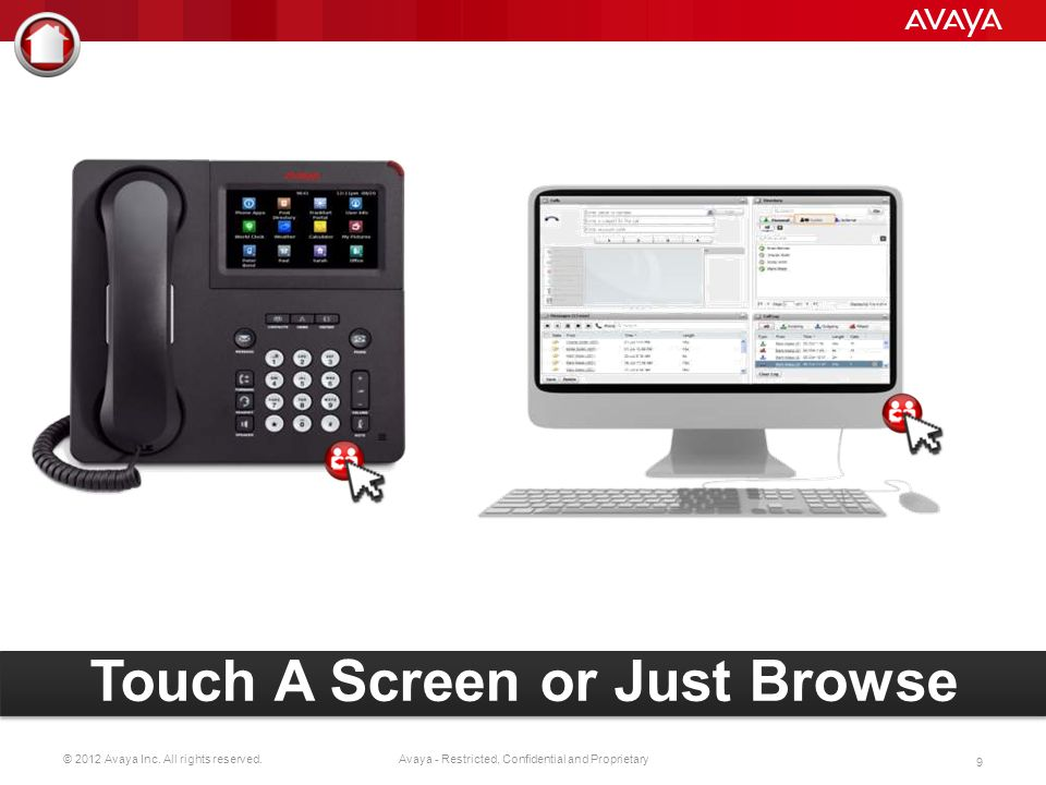 © 2012 Avaya Inc.All rights reserved. 39 Avaya - Restricted, Confidential and Proprietary Hello.