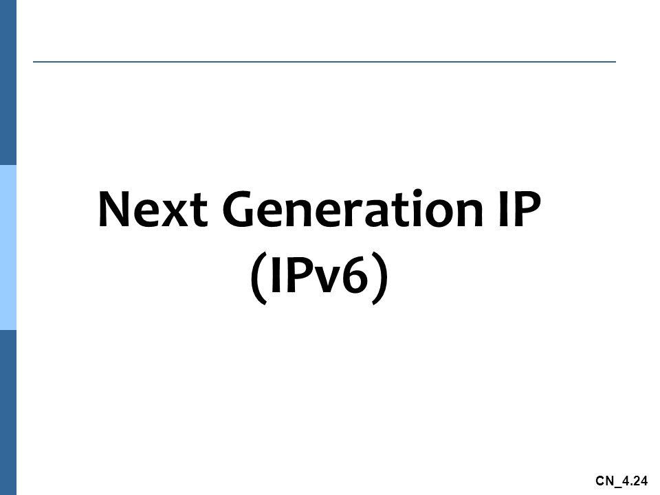 CN_4.24 Next Generation IP (IPv6)